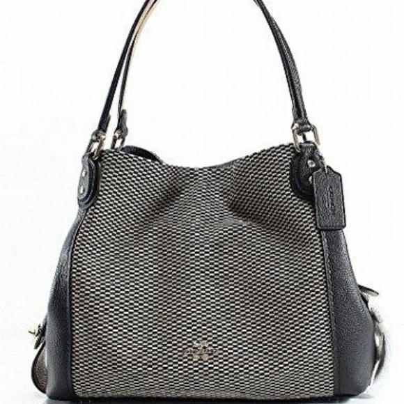 355c44f7c7f Coach Bags | Legacy Jacquard Edie 31 Medium Shoulder Bag | Poshmark